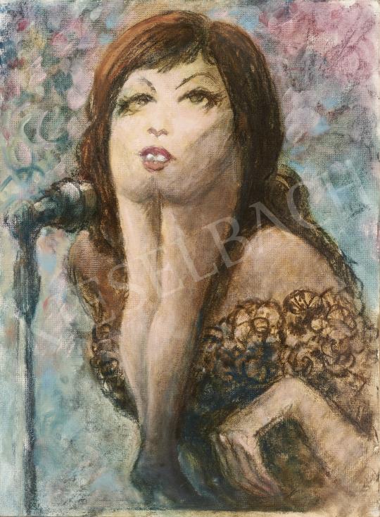 For sale  Ék, Sándor (Alex Keil) - Singer 's painting