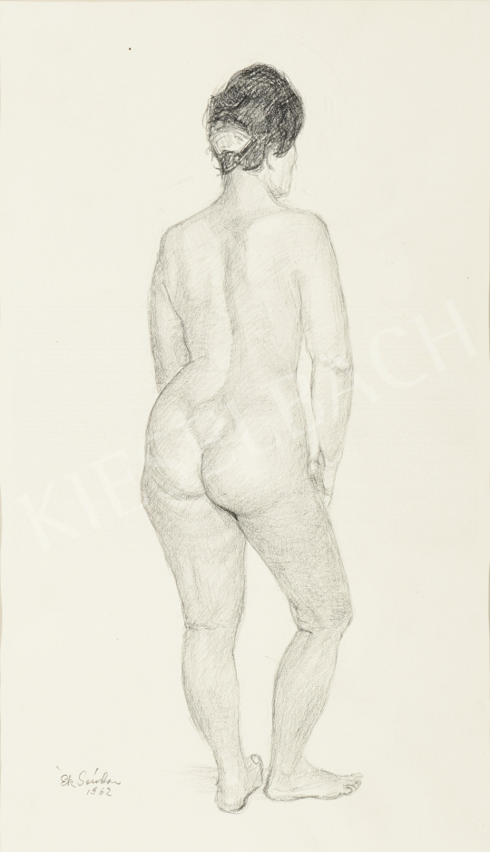 Eladó  Ék Sándor - Hátakt festménye