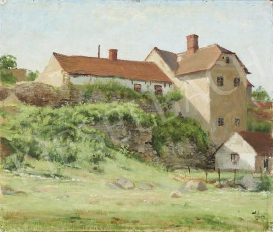 Eladó  Ék Sándor - Sárospatak festménye
