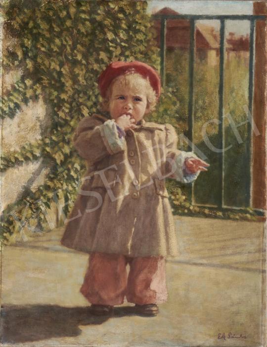 Eladó  Ék Sándor - Ági festménye