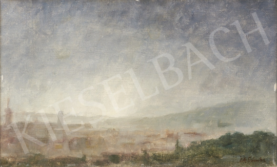 For sale  Ék, Sándor (Alex Keil) - View from Rosehill, in the background with Buda Castle 's painting