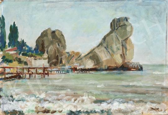 Eladó  Ék Sándor - Gurzufi tájak III. festménye