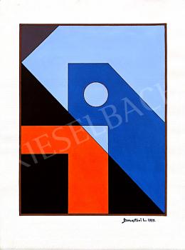 Monostori, László - Geometrical Composition II., 1997