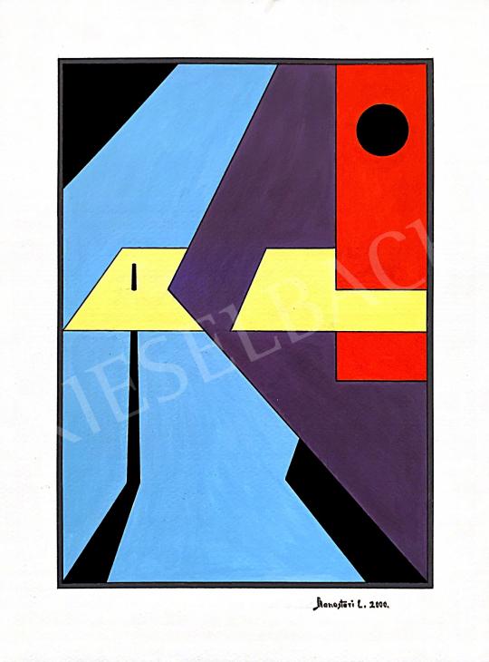 For sale Monostori, László - Plains in the Space, 2000 's painting