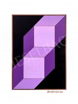 Monostori, László - Purple Cubes, 1998