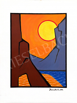 Monostori, László - Descending Sun, 2001