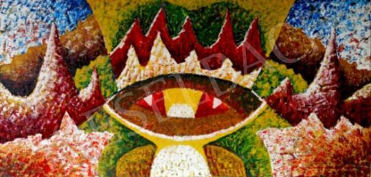Eladó  Bartók Sándor - Királyi méltóság ürügyén, 1989 festménye