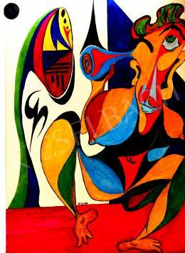 Bartók Sándor - Várandós kéjelgés, 1966