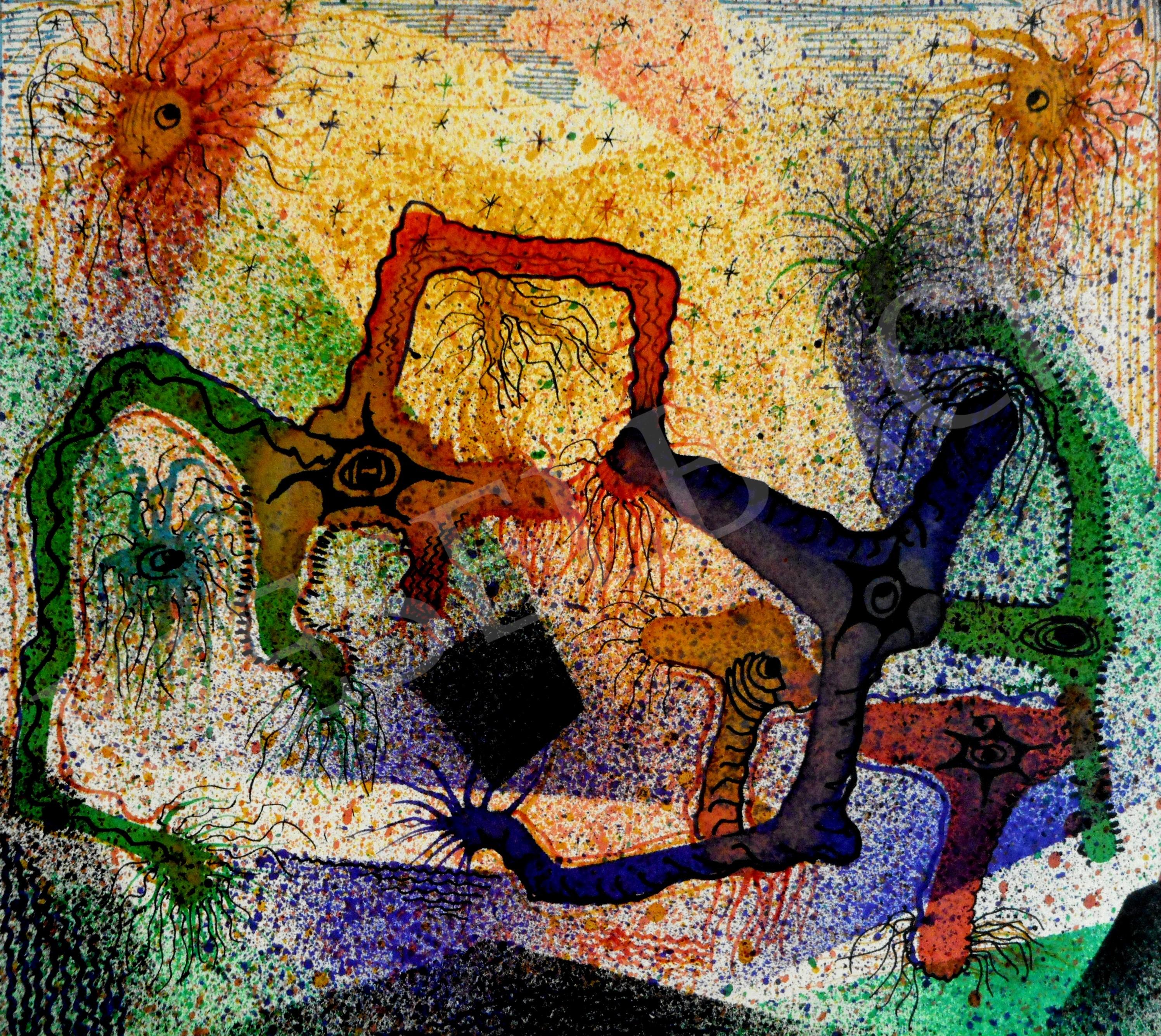 paraziták művészet