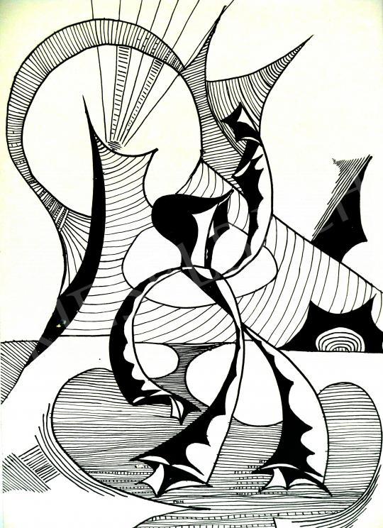 Eladó  Bartók Sándor - Tánc a jövőhöz, 1981 festménye