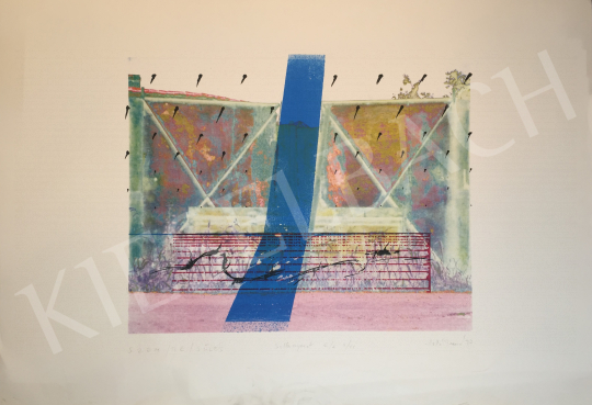 Eladó Holló Barna - Szem/Be/Sülés, 1997 festménye