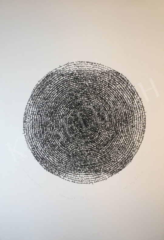 For sale Szőnyi, Krisztina - Letter Series: Circular, 2001 's painting