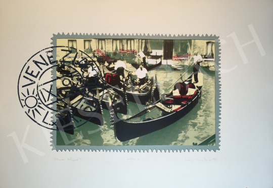 For sale Szőnyi, Krisztina - Venice Stamp 3., 1993 's painting