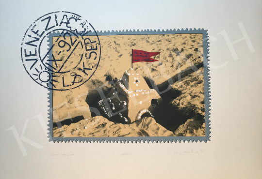 For sale Szőnyi, Krisztina - Venice Stamp 1., 1993 's painting