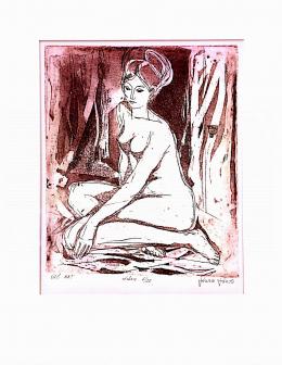 Józsa, János - Sitting Nude