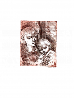 Józsa János - Anya gyermekével