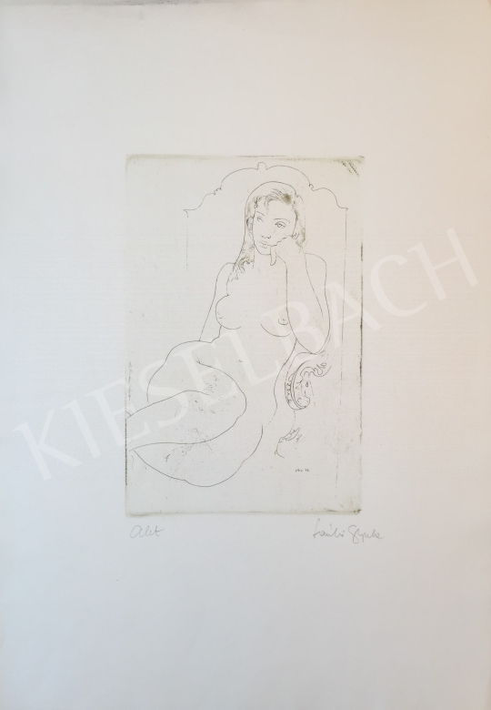 For sale László, Gyula - Nude, 1972 's painting