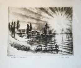 Kórusz József - Alkony a Balatonon