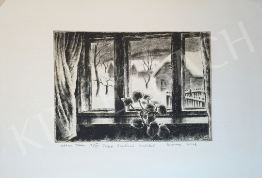 For sale Kórusz, József - Winter Window, 1983 's painting
