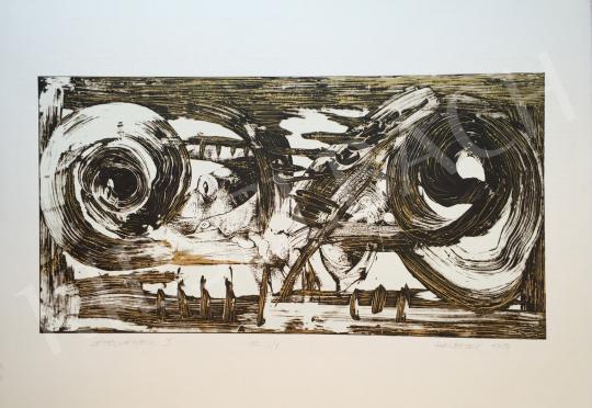 Eladó Halbauer Ede - Létélményeim I., 1994 festménye