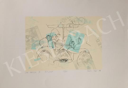 Eladó Pataki Tibor - Cafe Parisian I., 1998 festménye