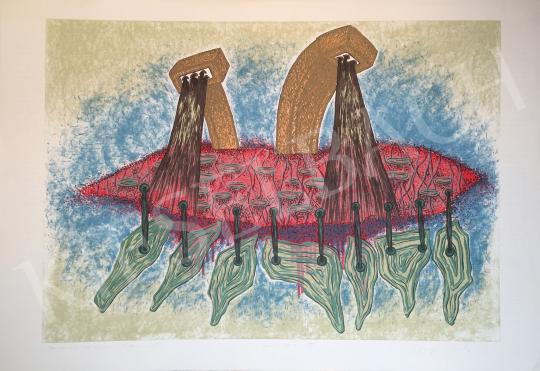 Eladó Stefanovits Péter - Nevelési tanácsok, 1995 festménye