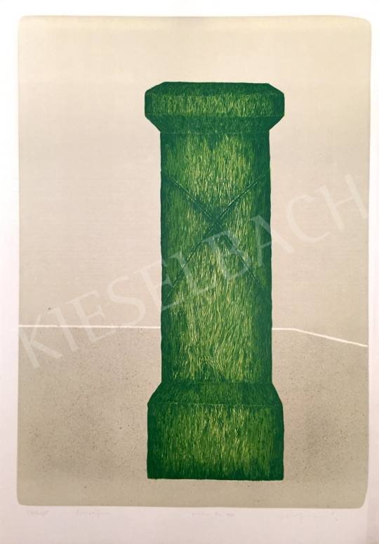 For sale Stefanovits, Péter - Grass Column, 1997 's painting