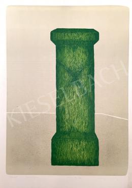 Stefanovits, Péter - Grass Column, 1997