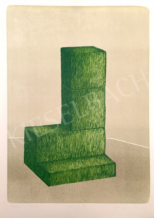 For sale Stefanovits, Péter - Grass Altar, 1997 's painting