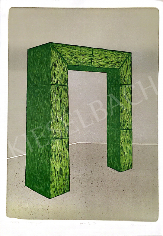 For sale Stefanovits, Péter - Grass Gate, 1997 's painting