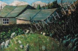 Nagy István - Hátsóudvar, 1911