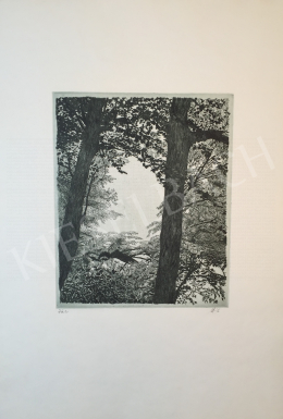 Scultéty, Éva (Imre Istvánné) - Trees, 1984