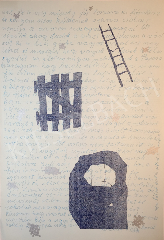 For sale  Hauser, Beáta Lilián - The Well, the Gate, the Ladder III., 2000 's painting