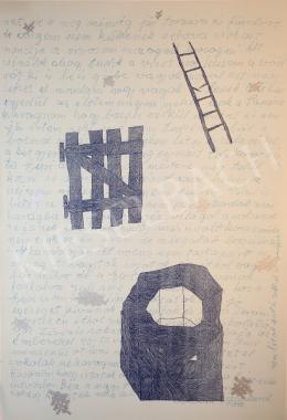 Hauser Beáta Lilián - A kút, a kapu, a létra III, 2000