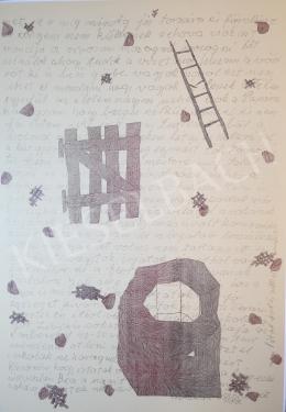 Hauser Beáta Lilián - A kút, a kapu, a létra II, 2000