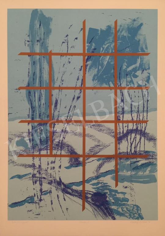 For sale Szotyori, Z. Edit - Blue Mood, 1996 's painting