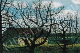 Nagy István - Kopasz fák házakkal (1911)