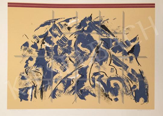 Eladó Szotyori Z. Edit - Gerschwin kék rapszódia, 1996 festménye