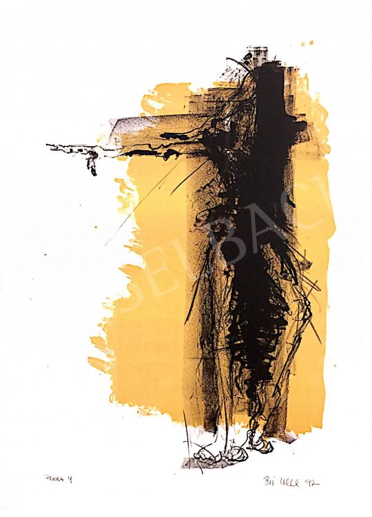 Eladó  Boi Weil - Próba sárga 4, 1997 festménye