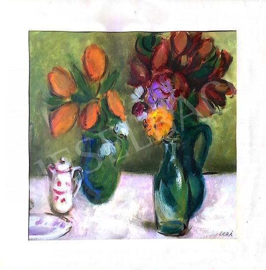 Eladó Cora Erzsébet - Csendélet festménye