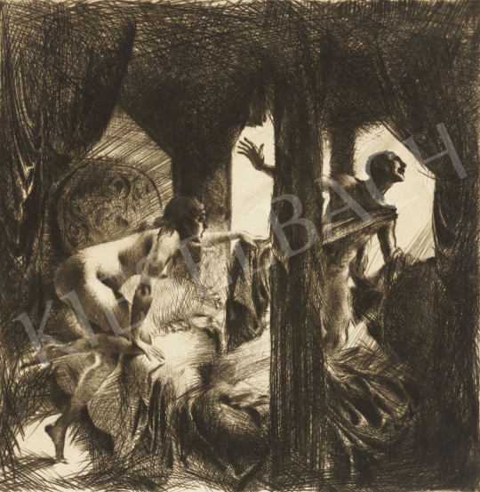 Eladó Ismeretlen festő - József és Putifárné, 1930 körül festménye