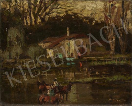 Eladó Károlyi Lajos - Vizimalom festménye
