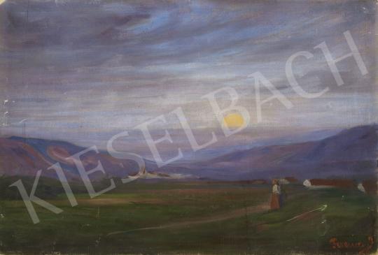 Eladó Ferenczy József - Alkonyat festménye