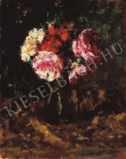 Koszta, József - Still-Life with Flowers, 1910s.