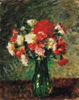 Koszta, József - Still-Life with Flowers, 1920s.