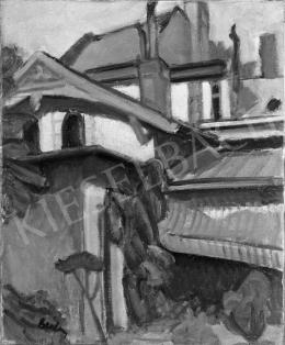 Berény Róbert - Városmajori utcai ház, 1906 (?)