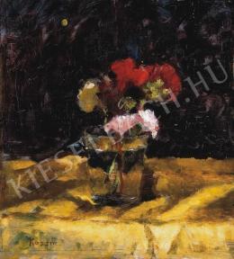 Koszta József - Virágok pohárban, 1910-es évek