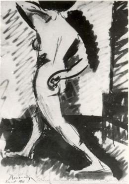 Berény, Róbert - Nude Study, 1910