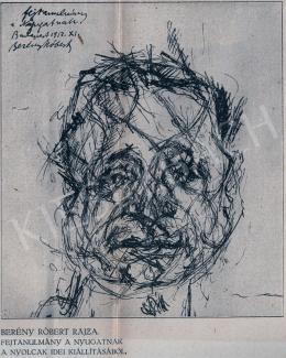 Berény, Róbert - Portrait of Ignotus, 1912