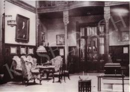 Czigány Dezső - Czigány Dezső A festőnő című festménye Lukács József egykori Gyopár utcai villájában